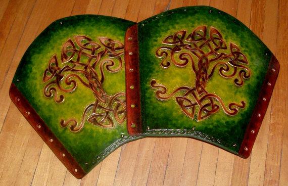 Celtic Tree Bracers