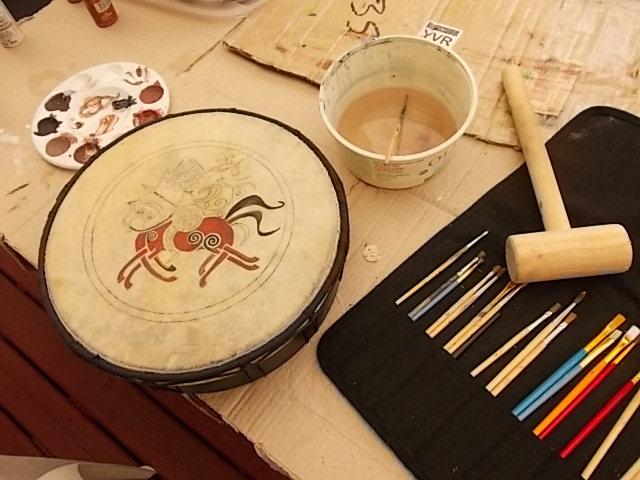 Painting my Drum
